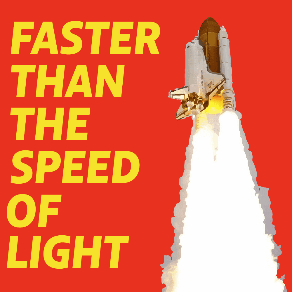 faster than the speed of light cover image