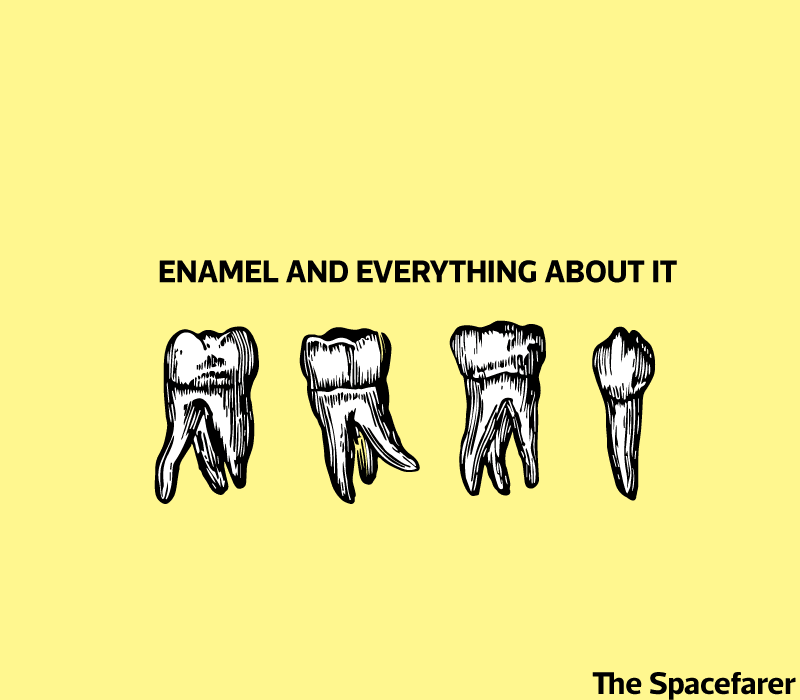 What is enamel cover image